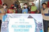 Ahli geofisika Unhas Makassar salurkan bantuan logistik ke Sulbar