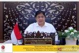 Menko Airlangga beberkan strategi pemulihan ekonomi Indonesia 2021-2022