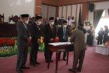 Ruksamin-Abuhaera ditetapkan Bupati-Wakil Bupati Konawe Utara Terpilih 2021-2026