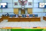 Komisi III DPR menyetujui tiga nama calon hakim ad hoc MA