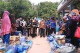Kemensos salurkan bantuan untuk warga terdampak longsor di Tanjungpinang