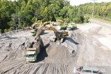 PT Freeport kembali kirim 3.500 ton pasir tailing ke Merauke