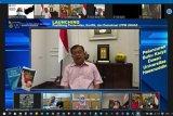 JK berbagi pengalaman perdamaian di peluncuran Puslitbang CPCD Unhas Makassar