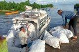 2.800 kilogram sampah diangkat dari  Taman Nasional Bunaken