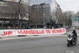 Suporter mengamuk, laga Marseille vs Rennes ditunda