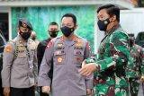 Panglima TNI terima kunjungan Kapolri