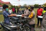 Ratusan motor curian  ditemukan polisi