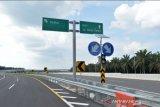 Tekan kecelakaan, 10 marka kejut kembali dipasang di Tol Pekanbaru-Dumai