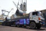 Krakatau Steel ekspor baja perdana 2021 ke Malaysia