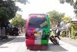 Polisi tangkap pengemudi angkot serempet anggota lantas di Probolinggo hingga terpelanting