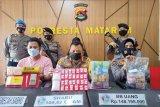 Ibu rumah tangga miliki satu ons sabu dan uang Rp148 juta di Mataram dibekuk polisi