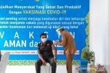 Wakil Ketua I DPRD Gumas tidak merasakan efek samping usai divaksin COVID-19