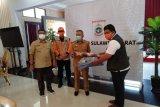Gubernur Sulbar Terima Bantuan dari Kaltara