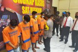 Polresta Sidoarjo ringkus  delapan pelaku penganiayaan