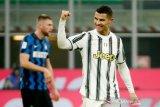 1-0, babak pertama Juventus-Roma, Ronaldo cetak gol lagi