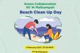 PT IKI gandeng MallSampah bersihkan pantai dan sisa material kapal