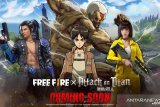 Game 'Free Fire' berkolaborasi dengan 'Attack on Titan'