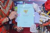 Ribuan bidang tanah kas desa di Kudus disertifikatkan via program PTSL