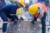 Kontraktor memastikan perbaiki kerusakan revitalisasi Tugu Yogyakarta