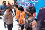 Polresta Sidoarjo tangkap dua pelaku pengedar narkoba