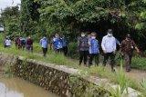 Nadalsyah cek persiapan pembuatan sodetan Sungai Bengaris