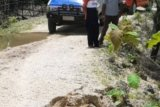 Akses jalan  di Rote Ndao terputus akibat longsor