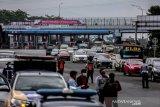 Sebanyak 3.200 kendaraan diminta putar balik di pintu Tol Baranangsiang