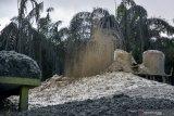 Lubang semburan gas dan lumpur di pesantren Pekanbaru belum bisa ditutup, begini penjelasannya