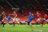 Everton tahan MU dengan gol detik-detik terakhir