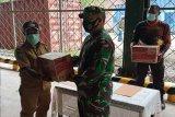 Koramil Tembagapura beri bantuan sembako warga Banti