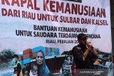 ACT Riau kirim bantuan 9,5 ton untuk Sulbar dan Kalsel
