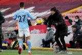 Manchester City bantai Liverpool 4-1, Guardiola bangga bisa patahkan keangkeran Anfield