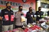 Polisi ungkap produksi ilegal kosmetik pemutih wajah