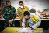Polres Kotim genjot penanganan COVID-19 di desa 'Lewu Isen Mulang'