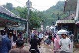 Banjir bandang terjang pemukiman warga pinggiran Garut