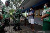 Kodam XIII/Merdeka serahkan bantuan untuk korban banjir
