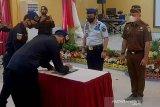 UPT Kemenkumham se-Nusakambangan dan Cilacap canangkan wilayah bebas korupsi