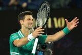 Djokovic raih gelar Australian Open yang kesembilan
