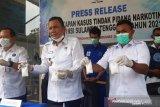 BNNP Sultra ringkus pengedar sabu-sabu seberat 713,12 gram