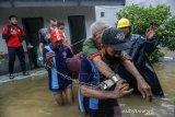 Evakuasi Warga Binaan Terdampak Banjir