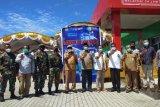 Satgas Yonif Raider 100/PS ikuti vaksinasi COVID-19 di Kabupaten Keerom