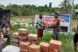 Kodim Jayapura beri bantuan sembako warga korban banjir Keerom