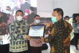 Arinal dapat penghargaan dari PWI Lampung pada HPN