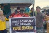 Musisi Donggala peduli bencana salurkan ratusan paket logistik ke Sulbar
