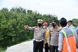 Tol Cipali jalur Cirebon arah Jakarta ambles, Korlantas berlakukan lawan arus di Km 117-126