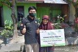 25 paket sembako dari LAznas IZI Riau untuk janda dan dhuafa Pekanbaru