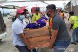 Jenazah tukang ojek asal Sulsel yang dibunuh di Ilaga dievakuasi ke Timika