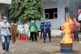 Satpol PP-PK Magelang beri pelatihan damkar ke Muhammadiyah