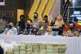 Bareskrim Polri gagalkan penyelundupan 353 kg sabu asal Timur Tengah