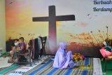 Gereja-kelenteng jadi tempat mengungsi korban banjir di Kudus